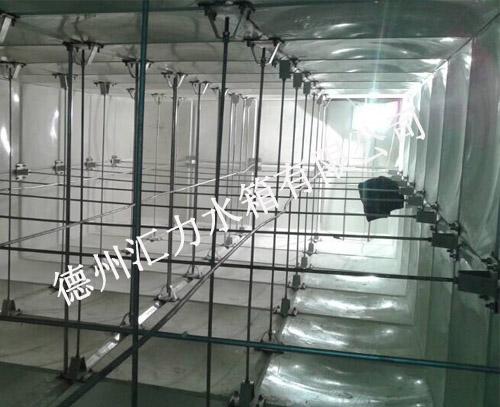 汇力玻璃钢水箱内部j结构图